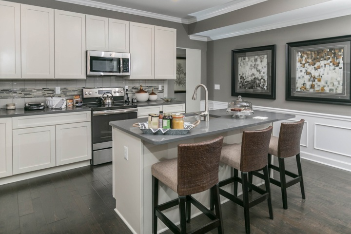 ann arbor new condos kitchen